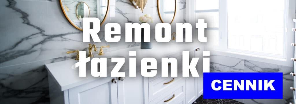 remont łazienki kosztorys